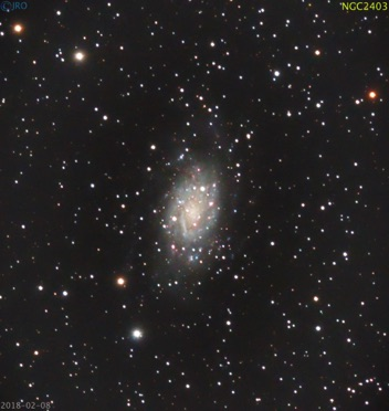 NGC2403 2/8/18  14x105 sec subs  QHY367c on RASA